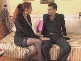 Un Film porno avec une Bourgeoise et son Employé